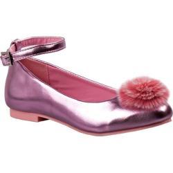 Girls' Nanette Lepore NL24992M Pom Pom Flat Pink Metal