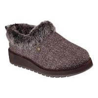 Women's Skechers Keepsakes High Clog Chocolate