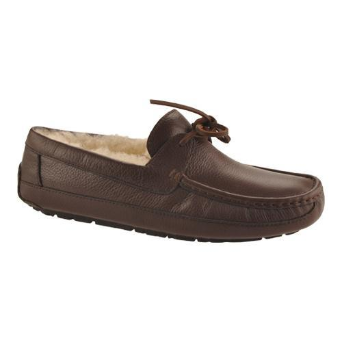 ab79cfb00aa Men's UGG Byron Slipper Chocolate Leather