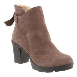 Women's Bearpaw Eden Ankle Boot Taupe Suede
