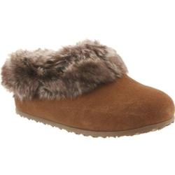 Women's Bearpaw Liliana Slipper Hickory II Suede/Faux Rabbit Fur (2 options available)
