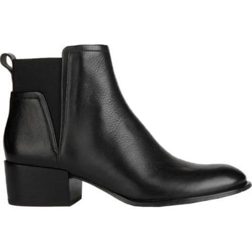 Women's Kenneth Cole New York Artie Bootie Black Leather - Thumbnail 0