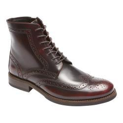 390a9e340 Shop Men's Rockport Wyat Wingtip Boot Burgundy Leather - Free ...