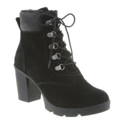 Women's Bearpaw Marlowe Lace-Up Ankle Boot Black II Suede (More options available)