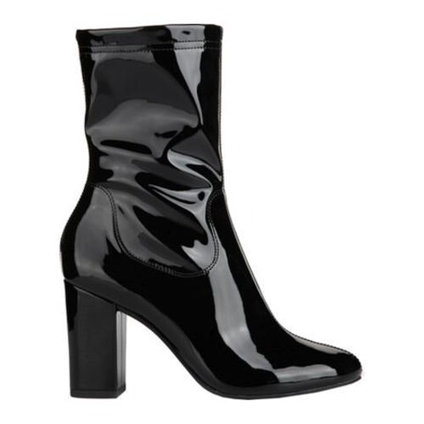 Women's Kenneth Cole New York Alyssa Bootie Black Patent Leather