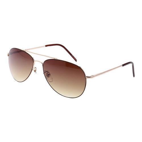 919fc7014 Shop Men's SWG Full Metal Frame Aviator Sunglasses SWGTU8102 Gold/Amber -  On Sale - Free Shipping On Orders Over $45 - Overstock - 17658653