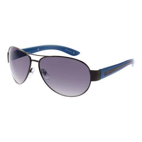 bd4f8bf00af30 Shop Men s SWG Full Metal Frame Aviator Sunglasses SWGTU8925  Black Blue Gradient - On Sale - Free Shipping On Orders Over  45 -  Overstock - 17658656