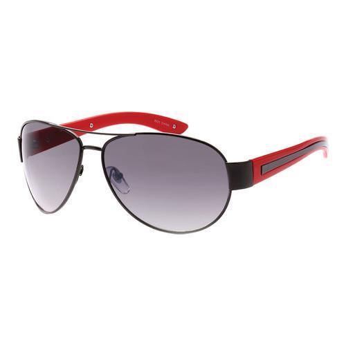 Shop Men\'s SWG Full Metal Frame Aviator Sunglasses SWGTU8925 Black ...