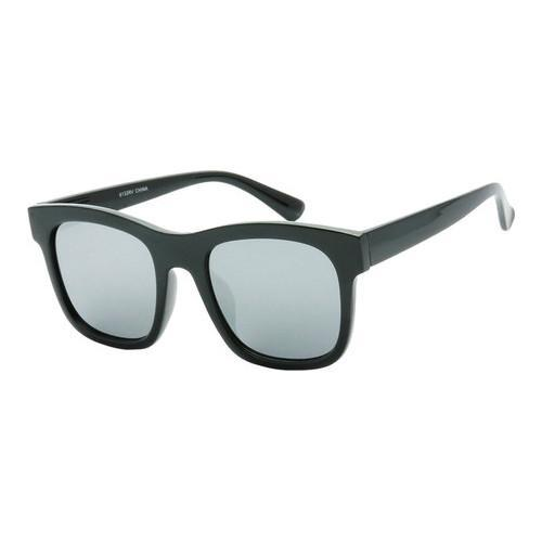 9923195bba4 Shop Men s SWG Retro Street Thick Frame Sunglasses SWGTU6132RV Black Silver  - Free Shipping On Orders Over  45 - Overstock - 17658881