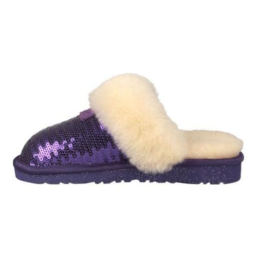 cec658e3544 Children's UGG Dazzle Slipper Purple Reign