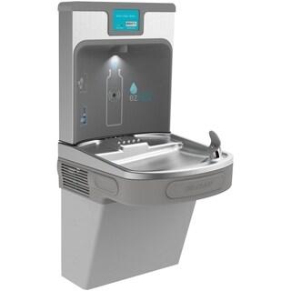 Elkay Enhanced EZH2O Bottle Filling Station & Single ADA Cooler, Filtered 8 GPH Light Gray