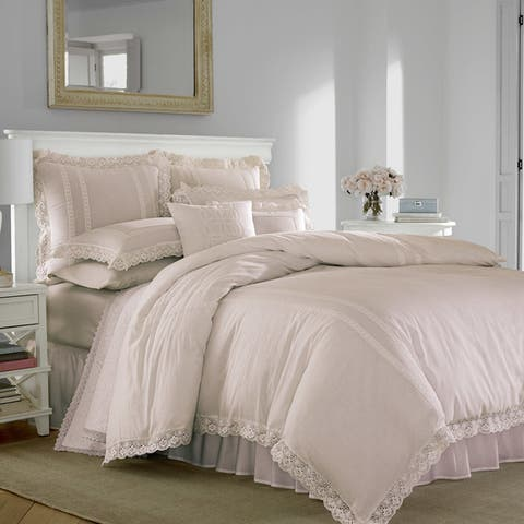 Laura Ashley Annabella Blush Pink Duvet Cover Set