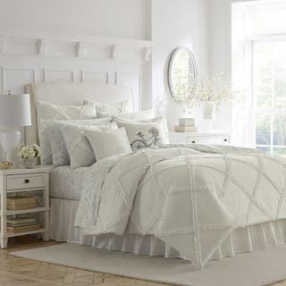 Stone Cottage Mosaic Cotton Duvet Cover Set Free