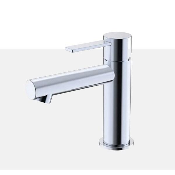 Single Lever Lavatory Tap Faucet - F24003 - Chrome