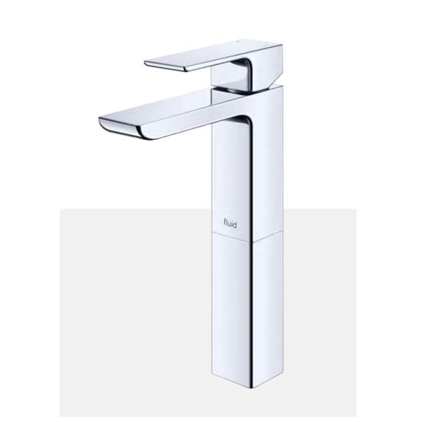 """Single Lever Lavatory Tap With 6"""" Extension - F16002 - Chrome"""