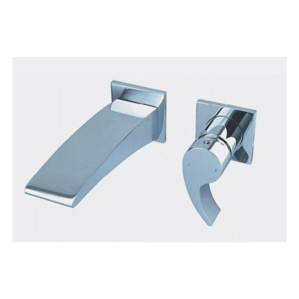 Shop Wall Mounted Tub Filler With Horizontal Rough In Valve