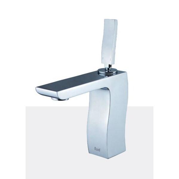 Single Lever Lavatory Tap Faucet - F12001 - Chrome