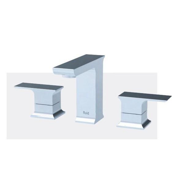 Dual Handle Lavatory Tap - F21006 - Chrome