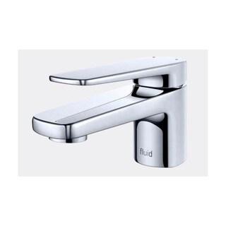 Single Lever Low Profile Lavatory Tap - F18003 - Chrome