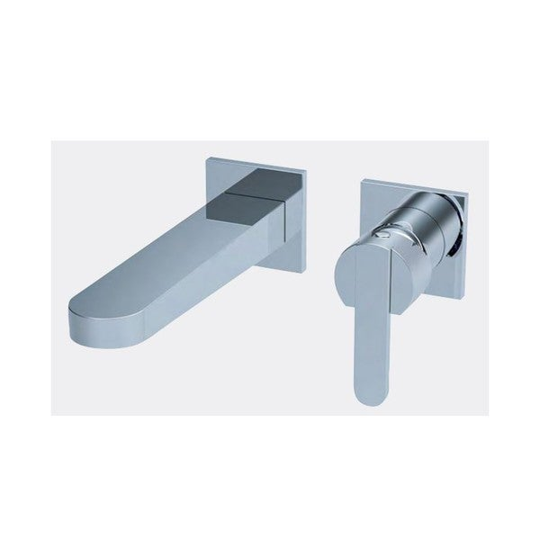Wall Mounted Faucet Trim With Horizontal Rough-in Valve - F28008T - Chrome