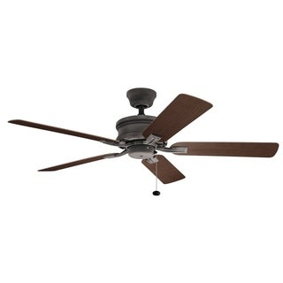 Kichler Lighting Tess Collection 52-inch Weathered Zinc Ceiling Fan