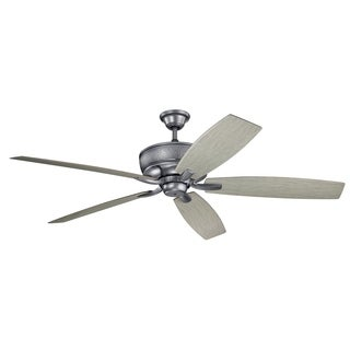 Kichler Lighting Monarch Collection 70-inch Weathered Steel Powder Coat Ceiling Fan