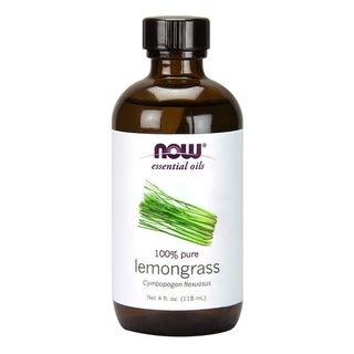 Now Foods 4-ounce Lemongrass Oil