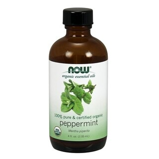 Now Foods 4-ounce Organic Peppermint Oil