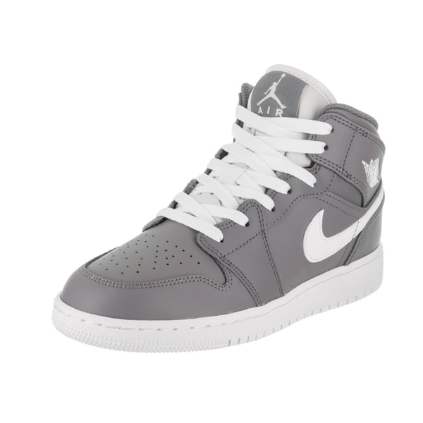 20a5628b173 Shop Nike Jordan Kids Air Jordan 1 Mid BG Basketball Shoe - Free ...