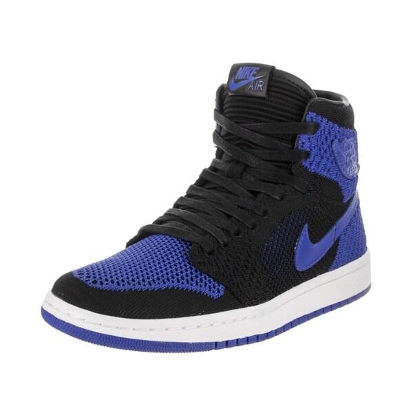 outlet store 1d408 71664 Nike Jordan Kids Air Jordan 1 Ret Hi Flyknit BG Basketball Shoe