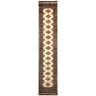 Handmade Bokhara Wool Runner (Pakistan) - 2'7 x 11'3