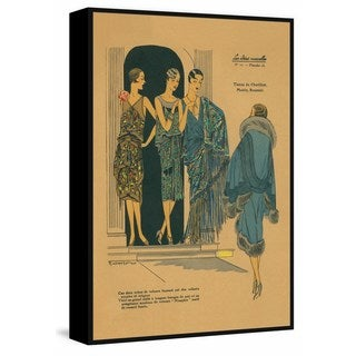 Marmont Hill - Handmade Party Wear Floater Framed Print on Canvas