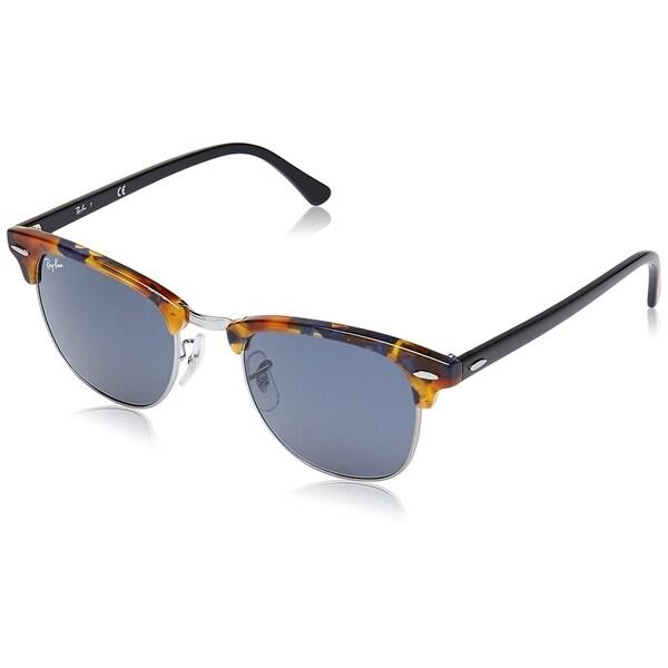 4452fade988 ... wholesale ray ban clubmaster fleck sunglasses tortoise black blue gray  classic 51mm f8726 b00b0