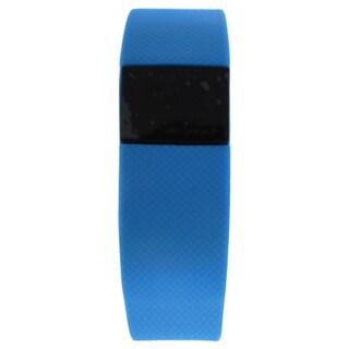 EK-H4 Health Sports Blue Silicone Bracelet