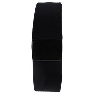 EK-H1 Health Sports Black Silicone Bracelet
