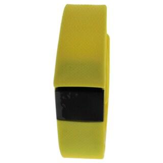 EK-H3 Health Sports Yellow Silicone Bracelet
