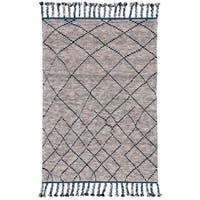 Grand Bazaar Vail Storm Wool Rug - 4' x 6'
