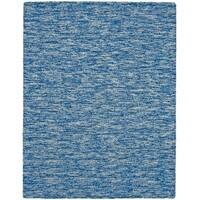 Grand Bazaar Zeni Azure Wool Rug - 3'6 x 5'6