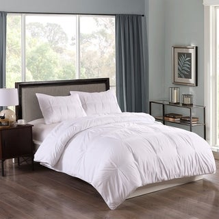 Lotus Home Water and Stain Resistant Pintuck Comforter Mini Set