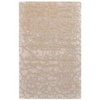 "Grand Bazaar Malawi Ivory Wool Rug (3'6 X 5'6) - 3'6"" x 5'6"""