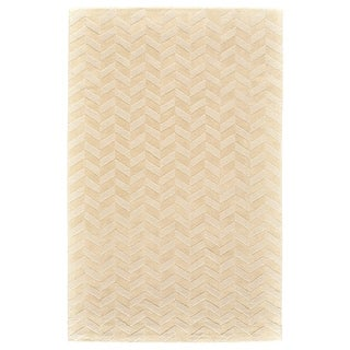 "Grand Bazaar Gainey Ivory Wool Rug - 3'6"" x 5'6"""