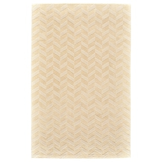 "Grand Bazaar Gainey Ivory Wool Rug - 3'6"" x 5'6"""