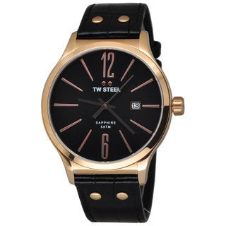 TW Steel Men's TW1303 Slim Black Watch