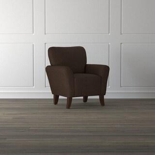 Handy Living Salida Chocolate Brown Arm Chair
