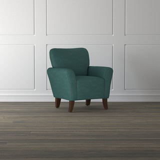 Handy Living Salida Peacock Blue Arm Chair