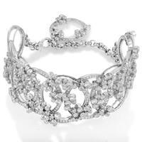 Millenary 18K White Gold Diamond Bracelet