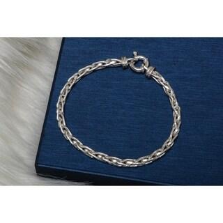 Pori Jewelers Sterling Silver Bracelet - White