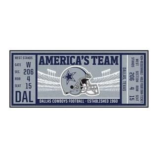 "Link to NFL - Dallas Cowboys Ticket Runner 30""x72"" Similar Items in Fan Shop"