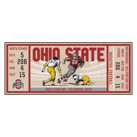 """Ohio State University Ticket Runner 30""""x72"""""""