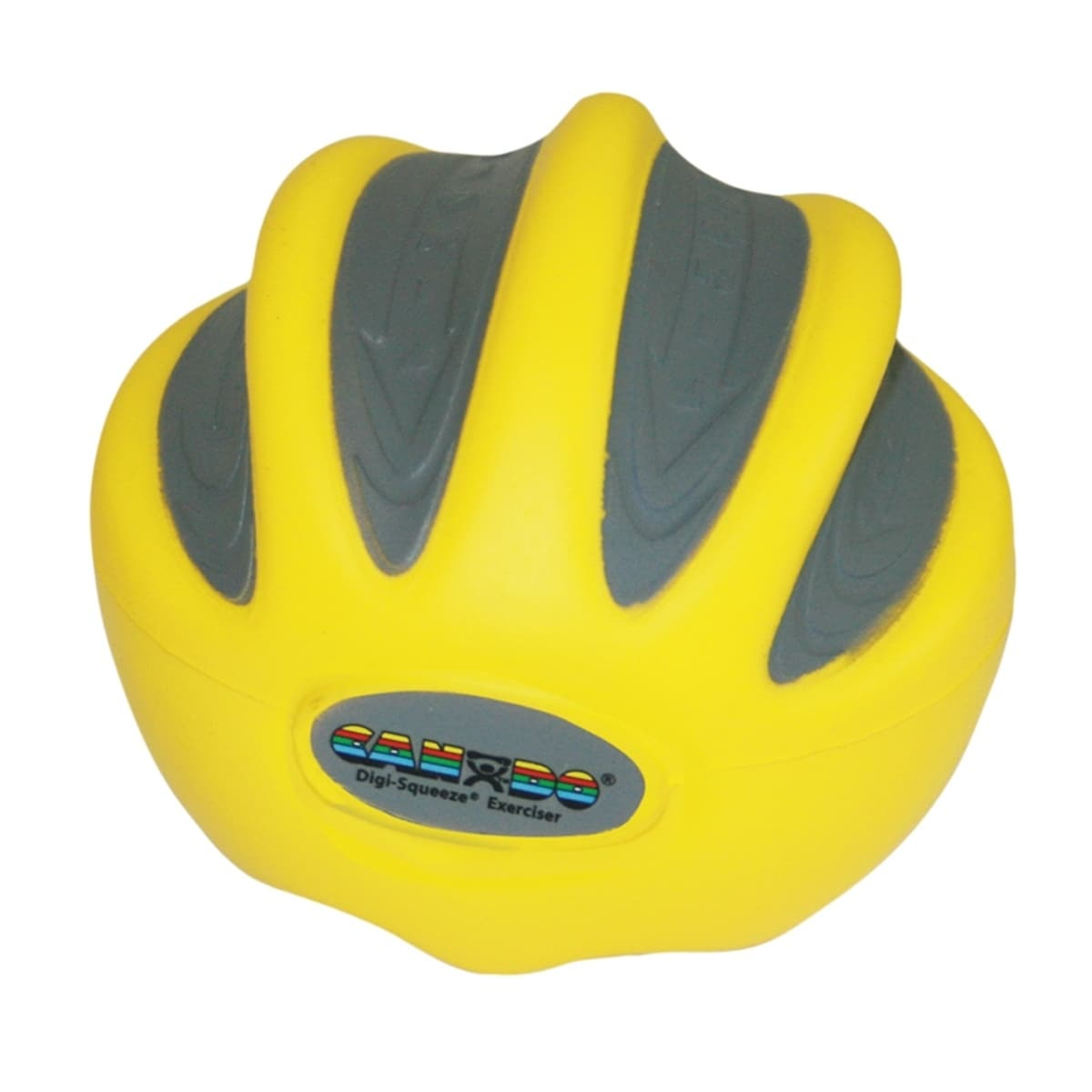 CanDo® Digi-Squeeze Hand/Finger Exerciser, Large (yellow ...